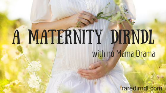 Maternity Dirndl