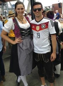 lederhosen&soccer jersey