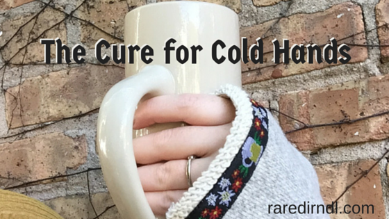 cure for cold hands- beer drinking gloves